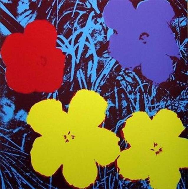 Andy Warhol, 'Flowers VIII', 1970, Print, Screenprint in colors on museum board, michael lisi / contemporary art