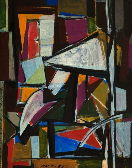 Stephen Pace, 'Untitled ', 1950, Painting, Oil on canvas, Berry Campbell Gallery