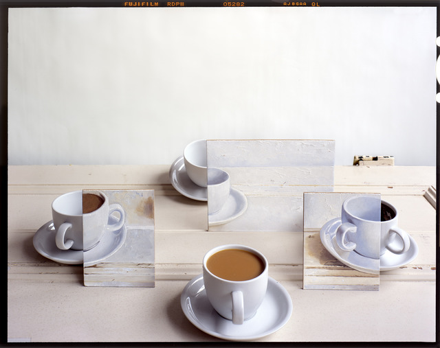 , 'Coffee Cups and Paintings on Door,' 2011, Wall Space Gallery
