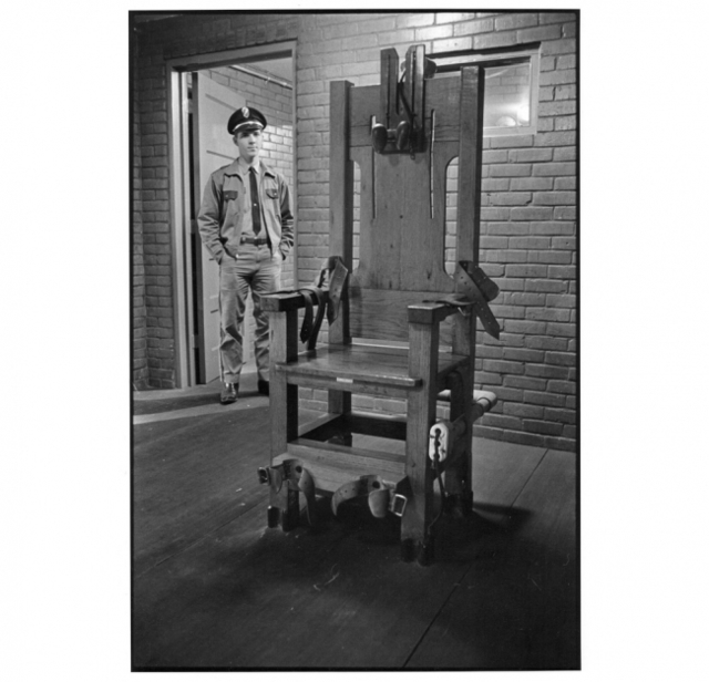 , 'Electric Chair,' 1971, Clark Gallery