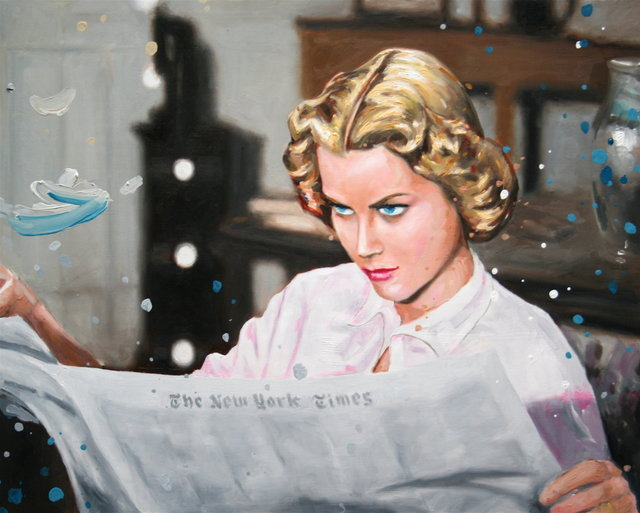 , 'Dial M for Murder: Newspaper,' 2014, Sloan Fine Art