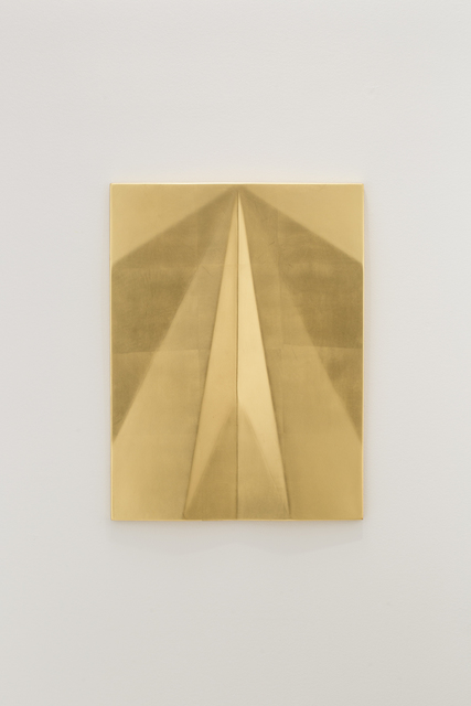 , 'Unfolded Gold (Gamma Sagitae),' 2018, Travesia Cuatro