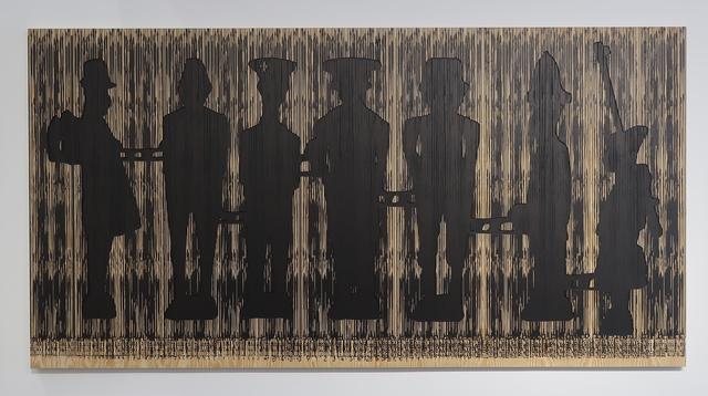 , 'Code Noir 3,' 2018, Richard Taittinger Gallery