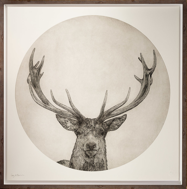 , 'Moon Stag,' 2019, Capital Culture Gallery