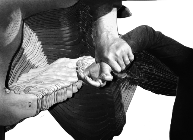 , 'Kristall (La Passion de Jeanne d'Arc/I),' 2014, Raum mit Licht