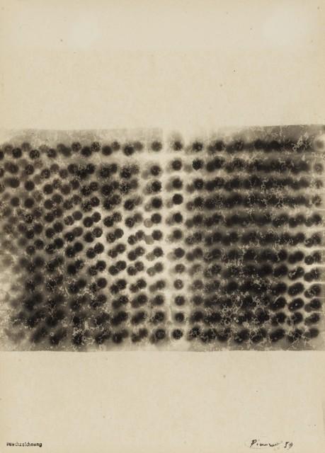 , 'Rauchzeichnung,' 1959, Galerie Thomas
