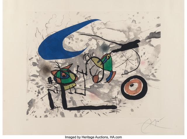 Joan Miró, 'Pygmées Sous La Lune', 1972, Heritage Auctions