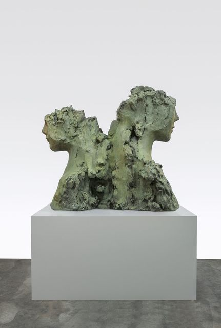 , 'Two Immovable Heads,' 2015-2016, Tanya Bonakdar Gallery