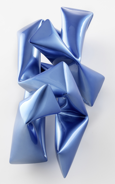, 'Wall Object Blue,' 2018, Caldwell Snyder Gallery