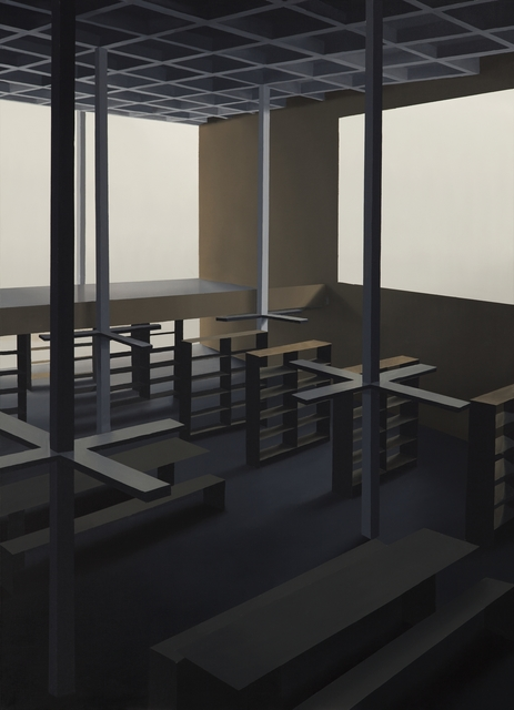 , 'Bibliotheca,' 2016, Galleria Heino