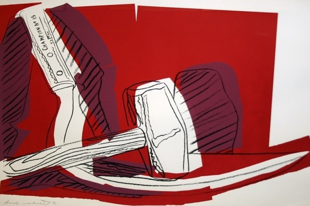Andy Warhol, 'Hammer and Sickle (FS II.162)', 1977, Revolver Gallery