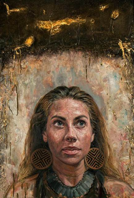 , 'Gold Vain No. 2,' 2017, Christian Marx Galerie