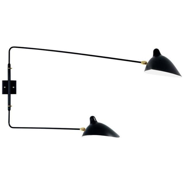 , 'Serge Mouille Two Rotating Straight Arms Sconce Lamp,' ca. 2015, DADA STUDIOS