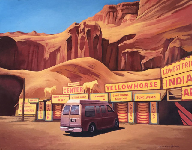 Mary Anne Erickson, 'Yellow Horse Trading Post, Route 66', 2016, Cross Contemporary Art