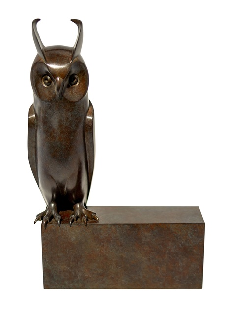, 'Small Long-eared Owl,' 2014, Galerie Dumonteil