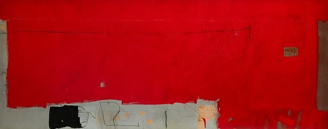 , 'Egg Red,' 2019, ÆRENA Galleries and Gardens