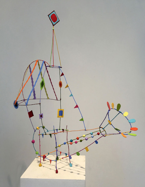 Tom Nussbaum, 'Watership', 2015, Sculpture, Acrylic on paper and wire, Octavia Art Gallery