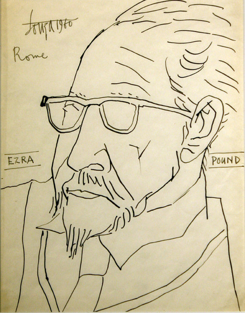 , 'Ezra Pound,' 1960, Aicon Gallery