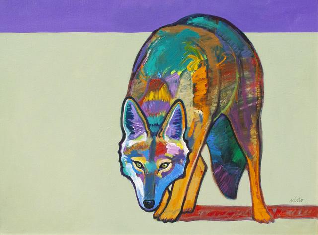 , 'Wolf,' ca. 2018, Ventana Fine Art