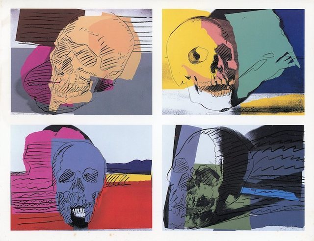 , 'Brooke Alexander Gallery, Andy Warhol, Eight Portfolios, Folded Card ,' 1990, James Fuentes