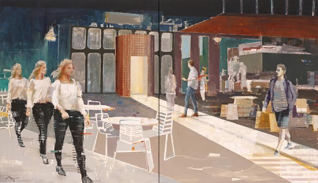 , 'Highline,' 2016, HOHMANN
