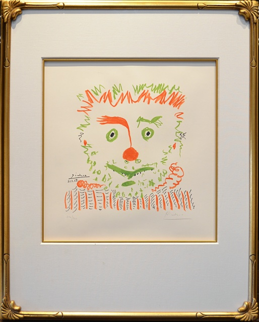 Pablo Picasso, 'Le Clown ', 1968, Off The Wall Gallery