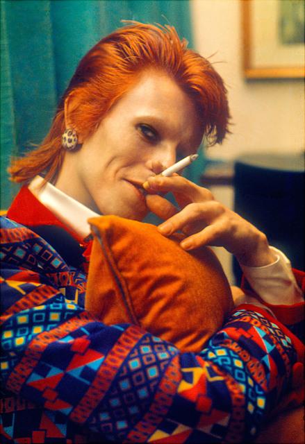 , 'Bowie with Cigarette,' 1973, TASCHEN