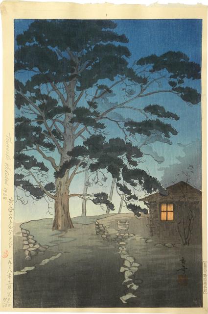 Kakunen Tsuruoka, 'Carmel Highland at Twilight', 1938, Scholten Japanese Art