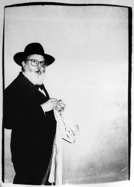 Andy Warhol, 'Andy Warhol, Photograph of Henry Geldzahler Lighting a Cigar, 1981', 1981, Photography, Silver Gelatin Print, Hedges Projects