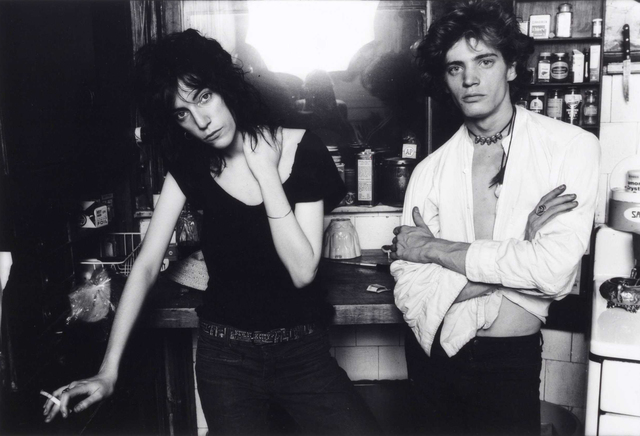 , 'Robert Mapplethorpe and Patti Smith, New York City (Patti with Cigarette),' 1969, Fahey/Klein Gallery
