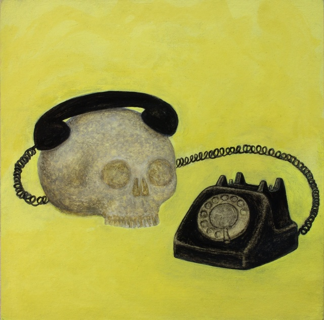 , 'Old Phone,' 2916, Rebecca Hossack Art Gallery