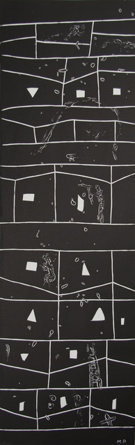 , 'Atlantico V (Rectangular Grid with Figures),' 1987, Zane Bennett Contemporary Art