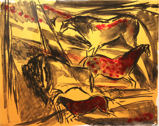 , 'Untitled (from the Lascaux Series),' 1984, C. Grimaldis Gallery