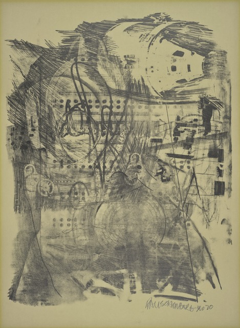 Robert Rauschenberg, 'Strawboss (Stoned Moon)', 1970, Print, Lithograph, San Francisco Museum of Modern Art (SFMOMA)