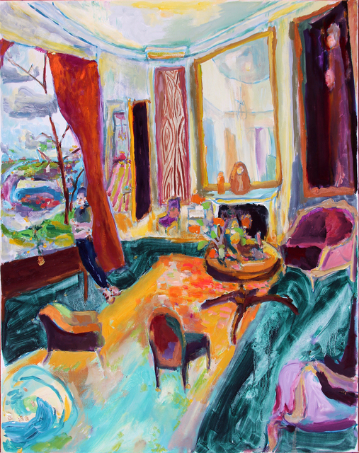 Bradley Wood, 'Old Vic', 2020, Painting, Oil on canvas, John Wolf Art Advisory & Brokerage
