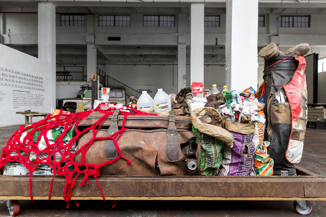 , 'Feeding of the Five Thousand Scheme I,' 2015, Museum of African Design (MOAD)