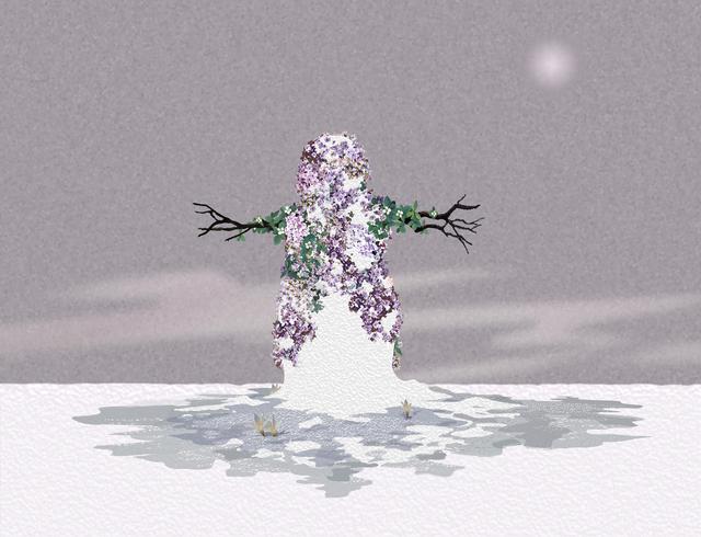 , 'Lavender Snowman,' 2006, Galleria Raucci / Santamaria