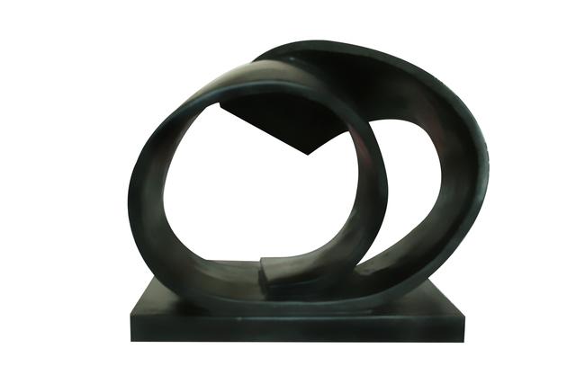 , 'Black Spiral Series 10,' 2010, Salwa Zeidan Gallery