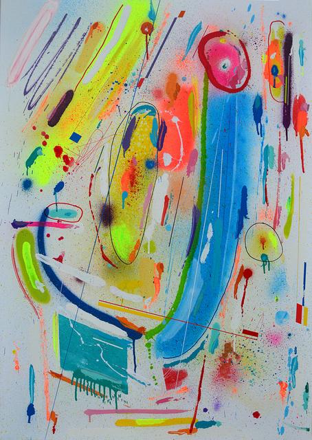 Kenor, 'Lotus Bleu', 2018, Painting, Acrylic on canvas, N2 Galería