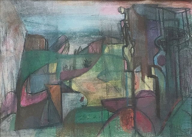 Morris Shulman, 'View Toward Gull Point (Monhegan)', 1948, Lawrence Fine Art