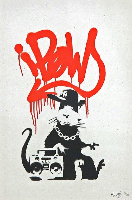 Banksy, 'Gangsta Rat', 2004, Tanya Baxter Contemporary