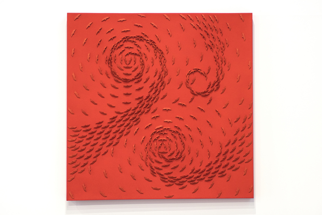 , 'Red Vortex,' 2014, Wook + Lattuada Gallery