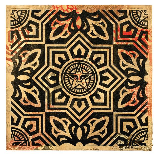 , 'Venice Pattern Black HPM,' 2009, Galerie Matthew Namour