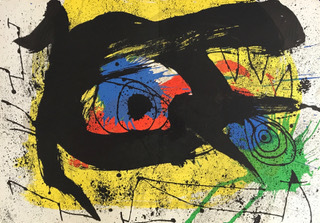 Joan Miró, 'Sobreteixims, from Derriére le Miroir, published by Maeght, Paris', 1973, Perry J. Cohen Foundation Benefit Auction