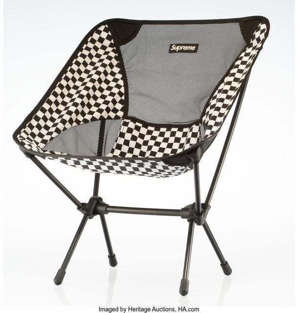 Supreme, 'Helinox Chair (Black)', 2016, Heritage Auctions