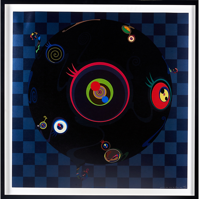 Takashi Murakami, 'Jellyfish Eyes, USA/Japan', 2004, Rago/Wright