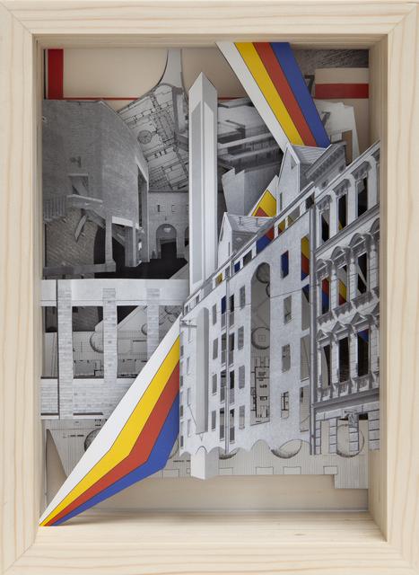 , 'Serie Baumeister »Baumeister 7, Juli 1987 - Ergänzungen in der Stadt« ,' 2015, Raum mit Licht