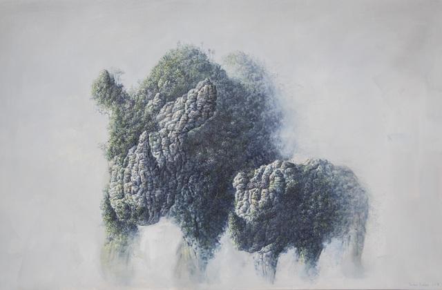 , 'Western Rhinoceros Tribute (Extinct in 2006),' 2017, Galerie Dumonteil