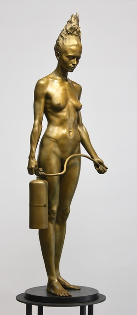Brian Booth Craig, 'Exotherm ', 2019, Sculpture, Bronze with unique patina, Louis K. Meisel Gallery