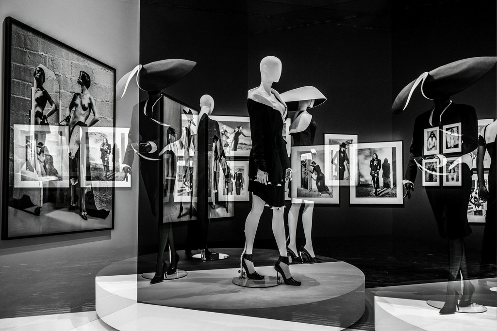 View of the exhibition Thierry Mugler: Couturissime. Montreal Museum of Fine Arts. Photo © Nicolas Ruel